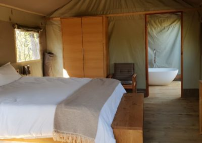 luxury tented camp chobe